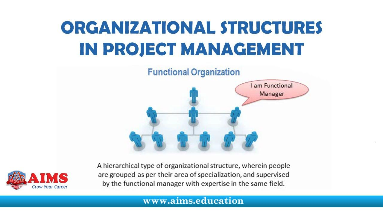What Is Project Management Organizational Structure Its Types And