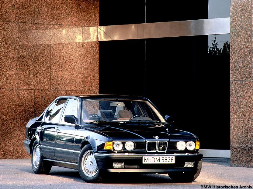 In 1987, #BMW surprised everyone when it unveiled 750i and 750iL ...