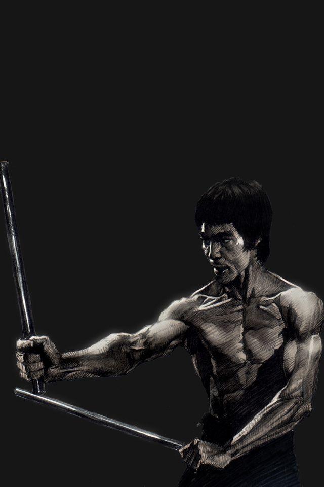 Bruce Lee Iphone 4s Wallpaper Download Martial Arts Bruce Lee Martial Arts Bruce Lee Art