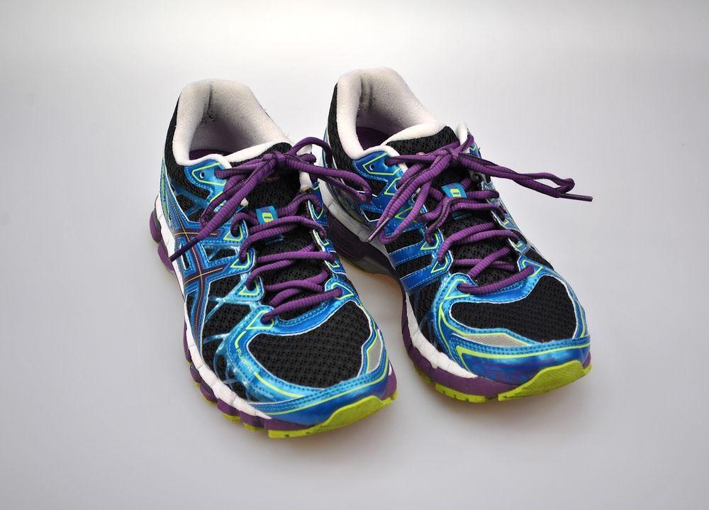 reputable site 850d7 3aae0 Asics Gel-Kayano 20 Women s US 8.5 EUR 40 Running Shoes Purple Blue T3N7N   ASICS  RunningCrossTraining