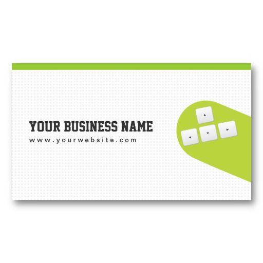 Flying Arrow Keys Game Programmer Business Card Zazzle Com Game Programmer Customizable Business Cards Programmer