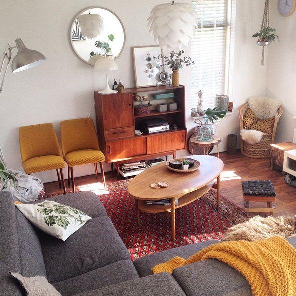 Lovely Salon Vintage Judiths Place Style Nordique Scandinave Deco Retro Instagram  Rose Cadillac Blog Deco Vintage