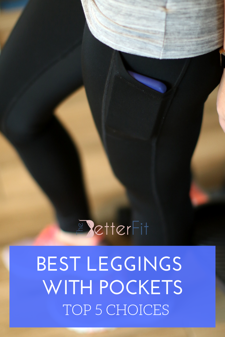 4c62f0148482a5 We've found the top 5 leggings with pockets for people who run and exercise  with their phone. These cute selections will keep your style on point while  also ...