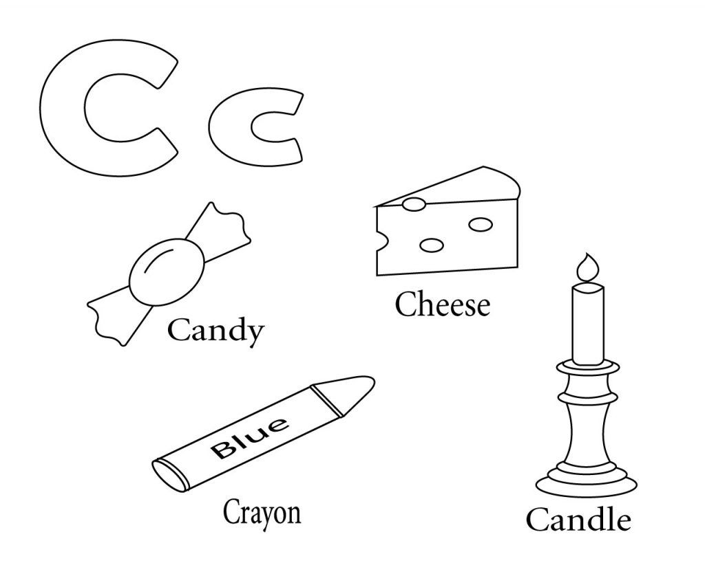 Free Printable Letter C Coloring Pages | Free Coloring Pages ...