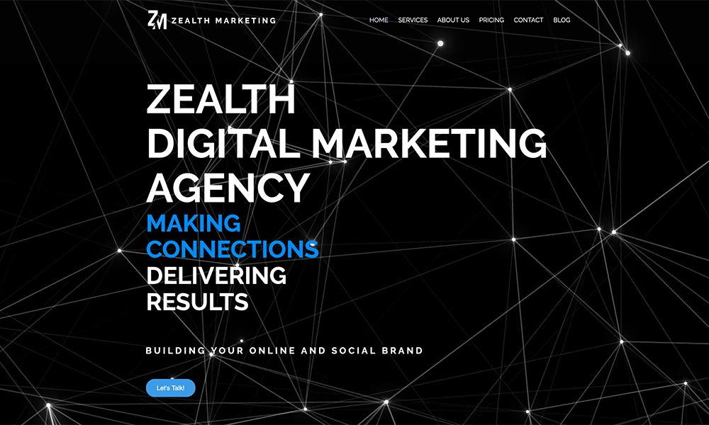 Site Of The Day In 2020 Digital Marketing Agency Marketing Agency Digital Marketing