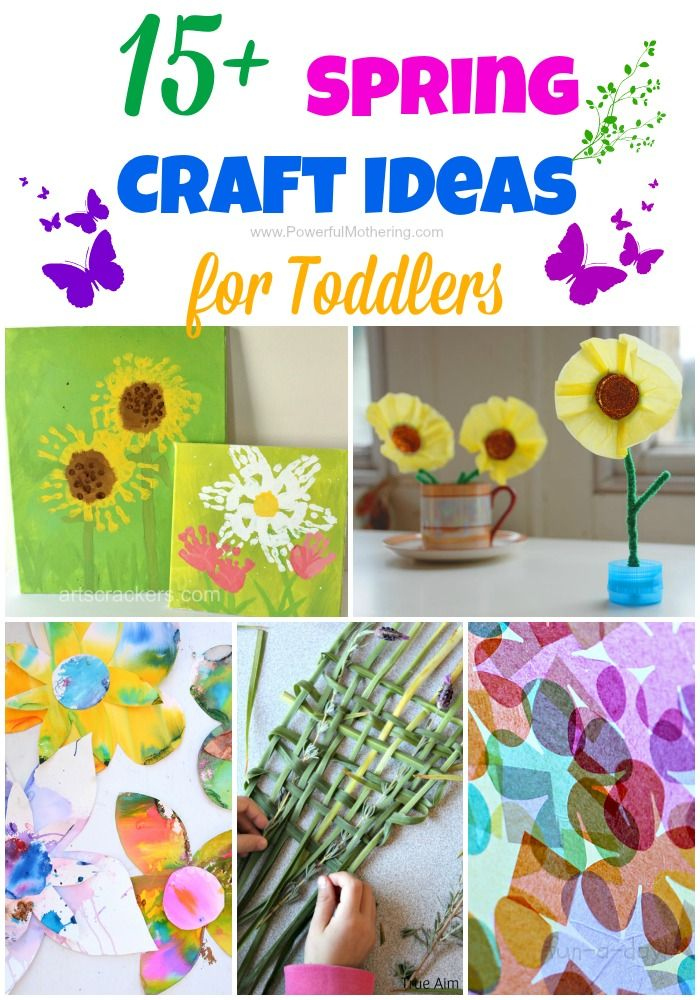 15 Spring Craft Ideas For Toddlers Seasonal Ideas Pinterest
