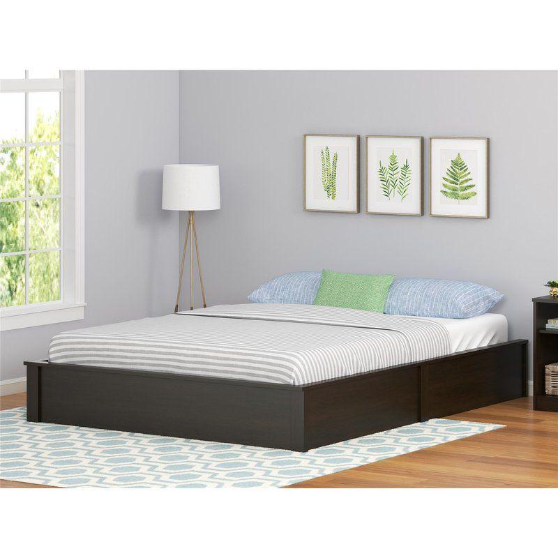 Mikel Platform Bed In 2020 Platform Bed Frame Full Bed Frame Bed Frame