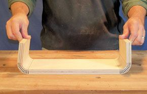 Bending Plywood In Two Directions