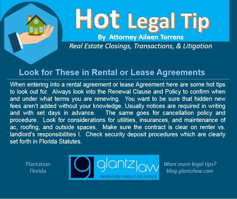 Hot Legal Tip By Aileen Torrens Real Estate Closings