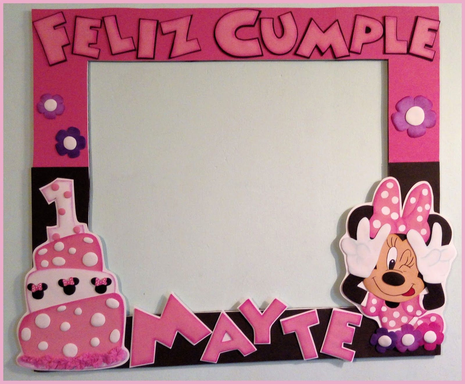 Marco selfie minnie | Torturi | Pinterest | Minnie mouse, Ideas para ...
