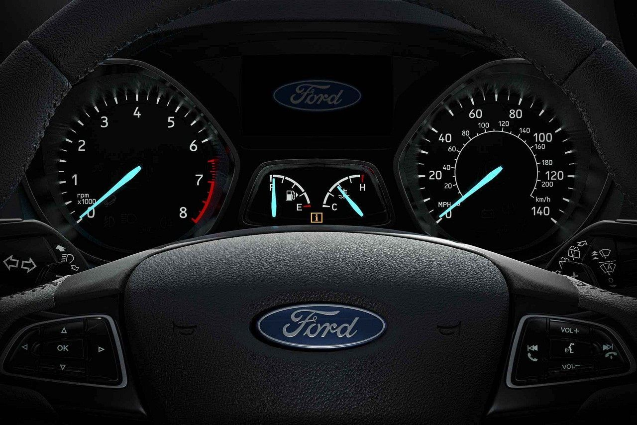 2018 Ford Escape With Available Race Inspired Paddle Shifters
