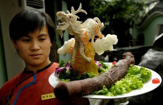 Chinese food penis