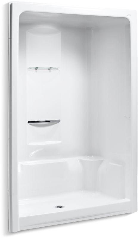 Kohler K 1688 One Piece Shower Small Shower Remodel Shower Remodel