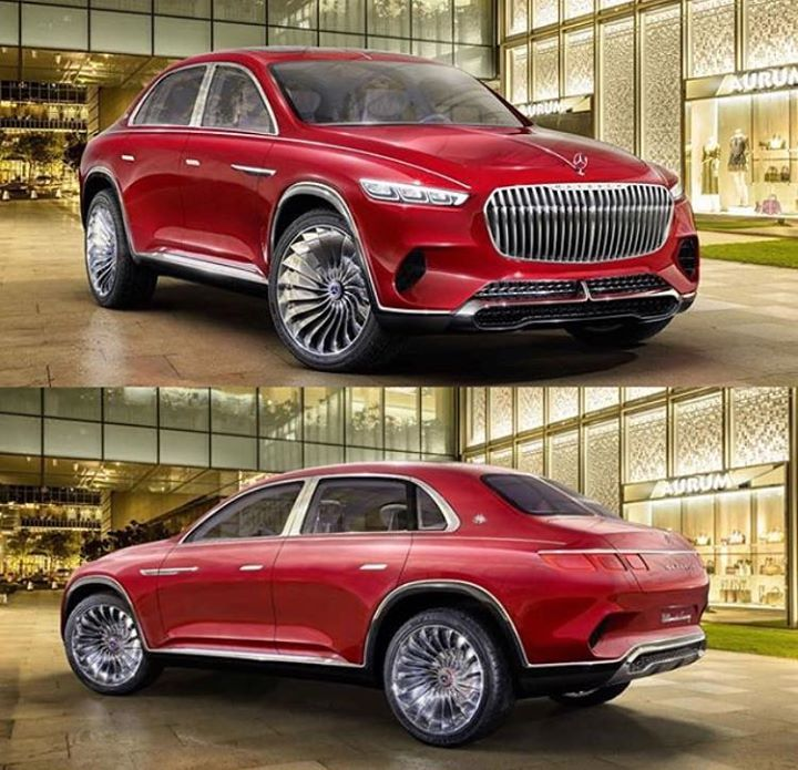 New Mercedes- Maybach GLS Ultimate Luxury Concept 😍😍 What
