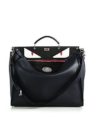 83304c32d0299f Fendi Selleria Bugs Peekaboo Bag | My Style | Fendi peekaboo bag ...
