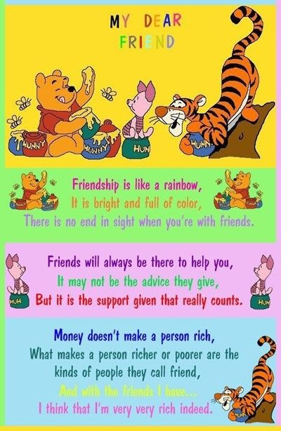 Pooh Bear Winnie The Pooh Pinterest Gorgeous Pooh Quotes About Friendship