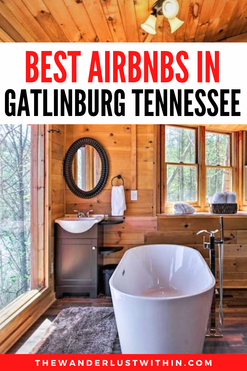 Best Gatlinburg Airbnb Top Cabins With Hot Tubs For 2021 The Wanderlust Within Gatlinburg Gatlinburg Cabin Rentals Tennessee Cabins