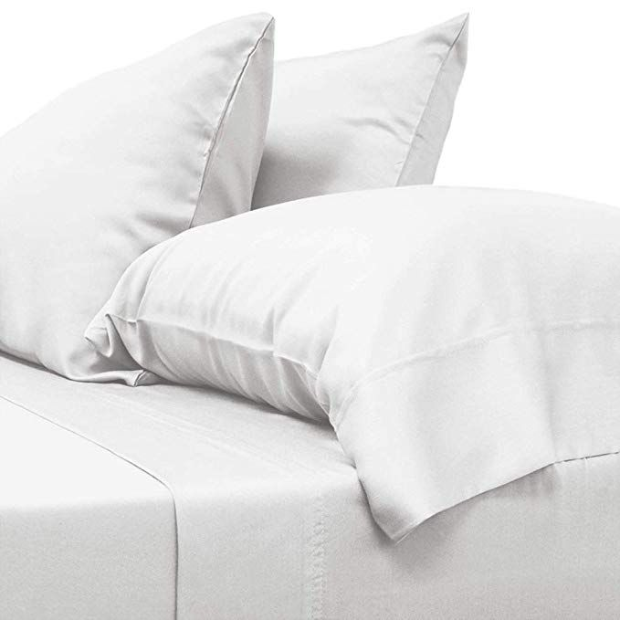 Cariloha Classic Bamboo Sheets 4 Piece Bed Sheet Set Softest Bed