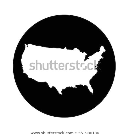 USA map icon | vectors icon | Map icons, Vector icons, Map