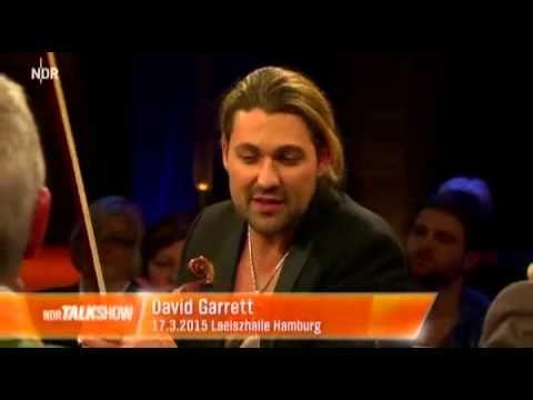 David Garrett Ndr Talkshow