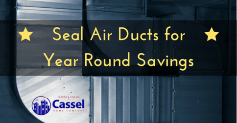 One Of The Most Overlooked Maintenance Tasks Is Sealing Air Ducts