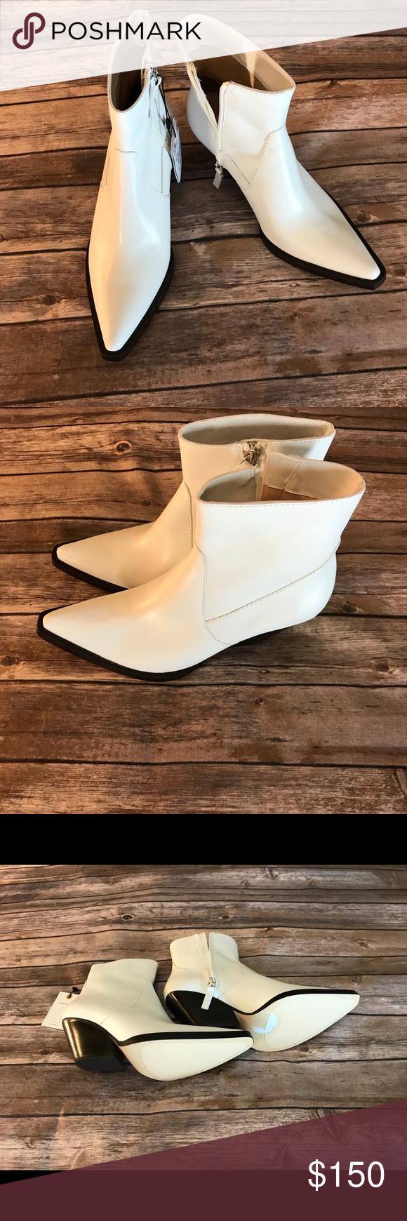 4f6eb2f0cc1 NWT Zara White Cowboy Boots Size 6.5 NWT Zara White Cowboy Boots ...