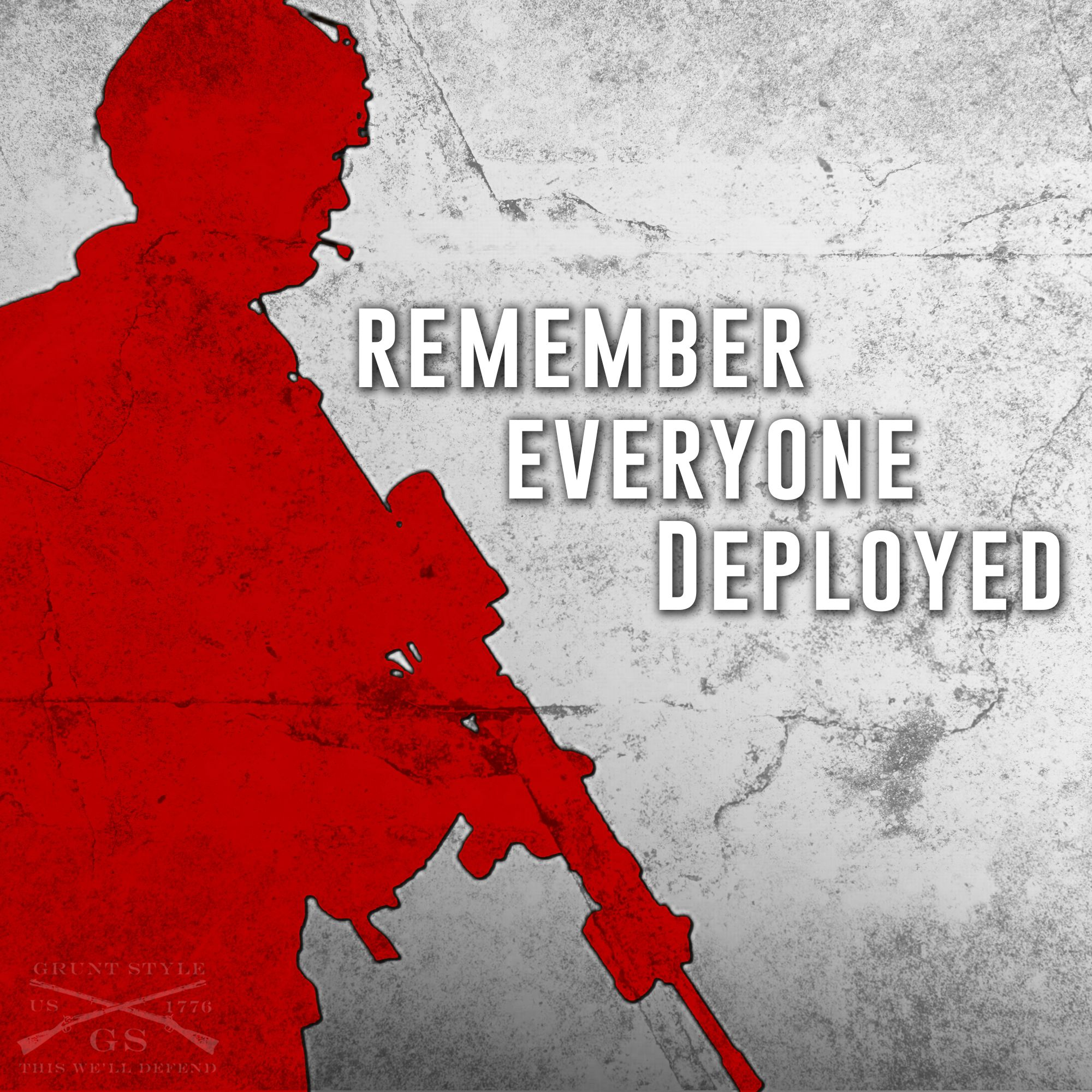Pause And Remember Everyone Gets Discouraged And Feels: Remember Everyone Deployed (R.E.D.)