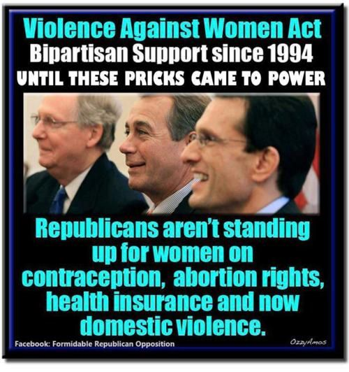 The Republican War on Women #WaronWomen - Virginia, Kentucky and Ohio please vote these douchebags out in November.  PLEASE!!!!!
