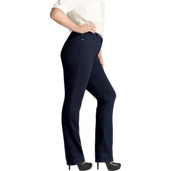 f135ec218f0d2 Costco: Gloria Vanderbilt Ladies' Amanda Stretch Denim Jean (Plus Size) –  Dark Blue Wash
