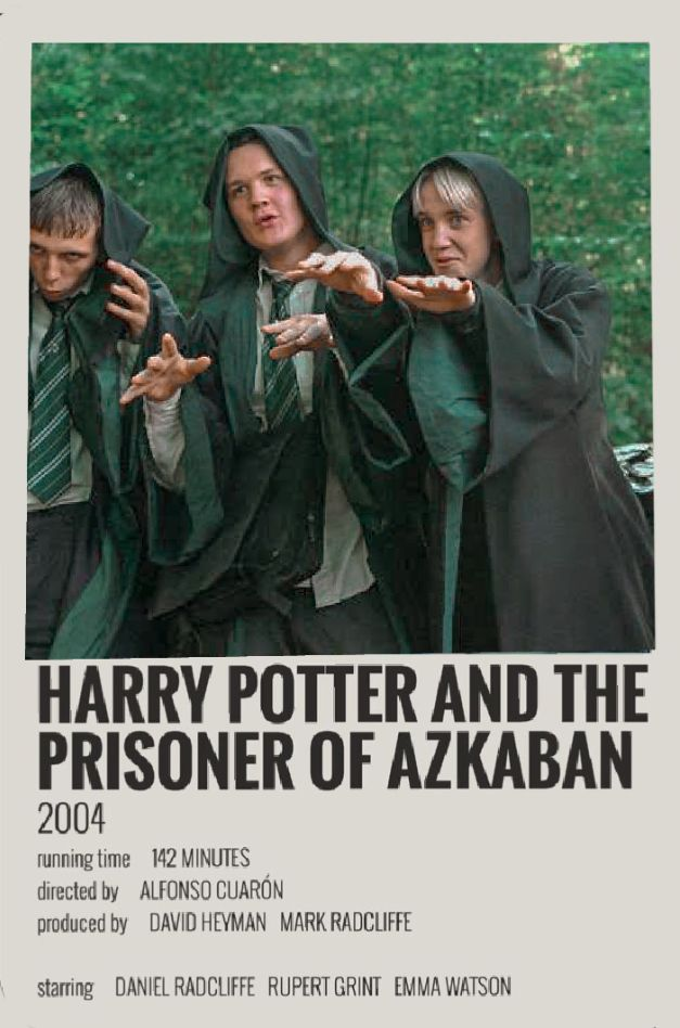 Harry Potter and the prisoner of Azkaban (polaroid