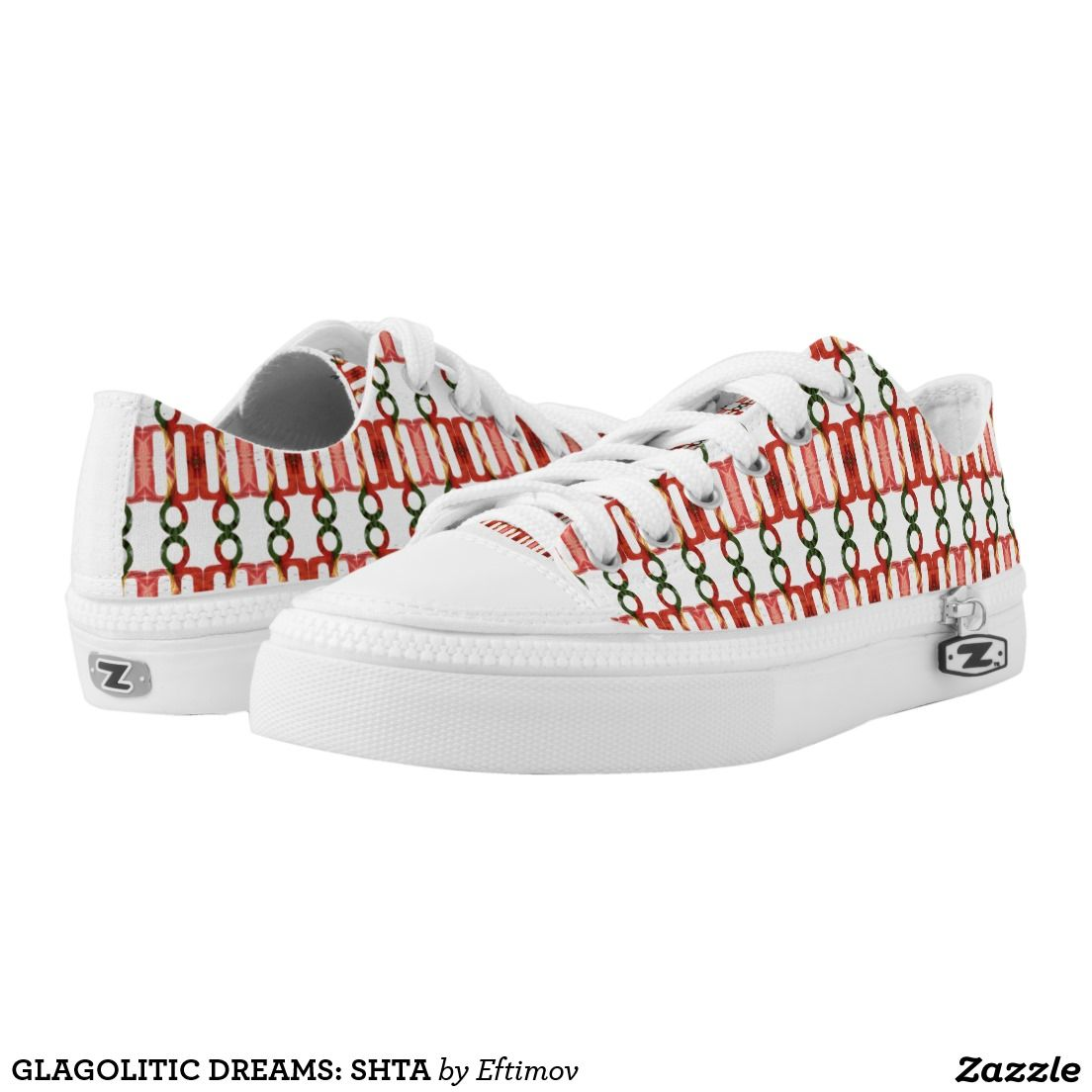 GLAGOLITIC DREAMS: SHTA PRINTED SHOES