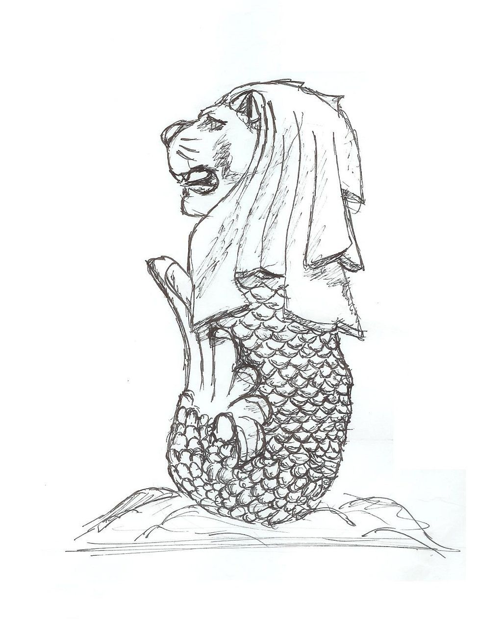 merlion coloring pages google search kopitiam feeling