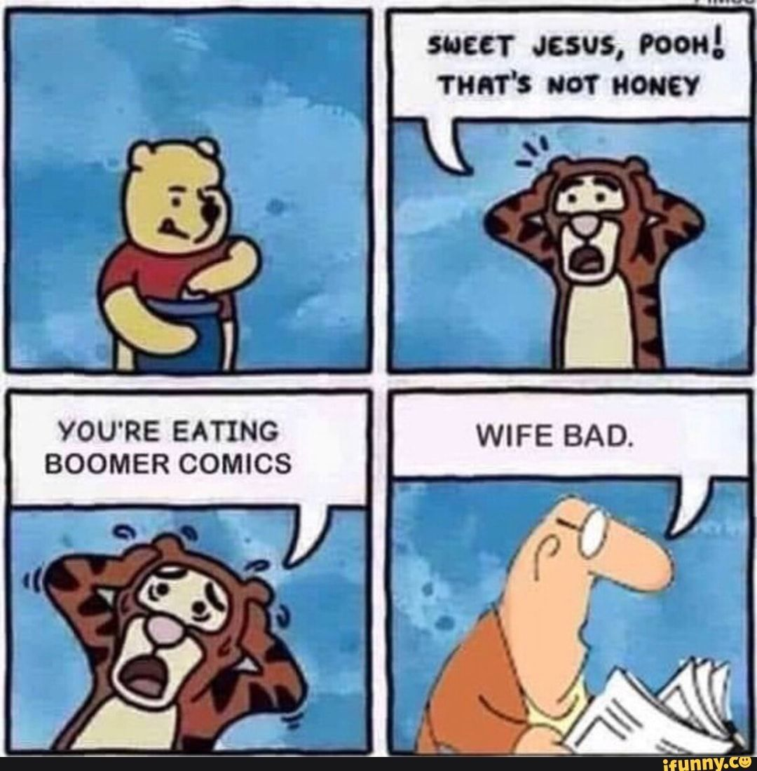 Boomer Comics You Re Eating Ifunny Funny Memes Memes Edgy Memes Just because your comic was conservative, that doesn't mean it's must be comic styled. boomer comics you re eating ifunny
