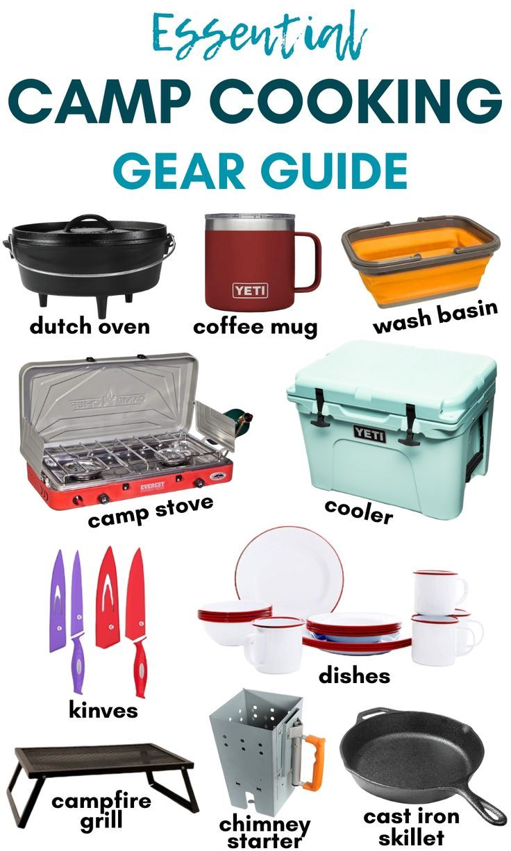 Photo of Essential Camp Cooking Gear List