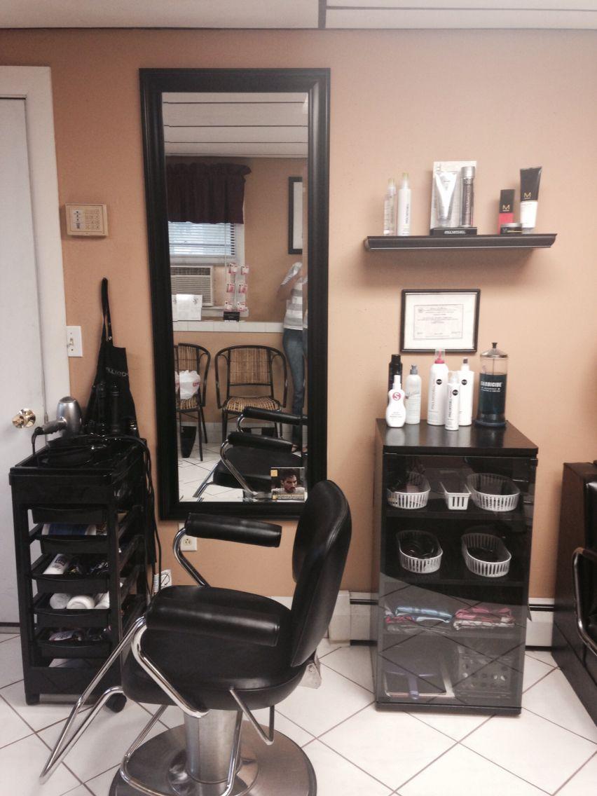 Second station Salon suites decor, Beauty salon decor