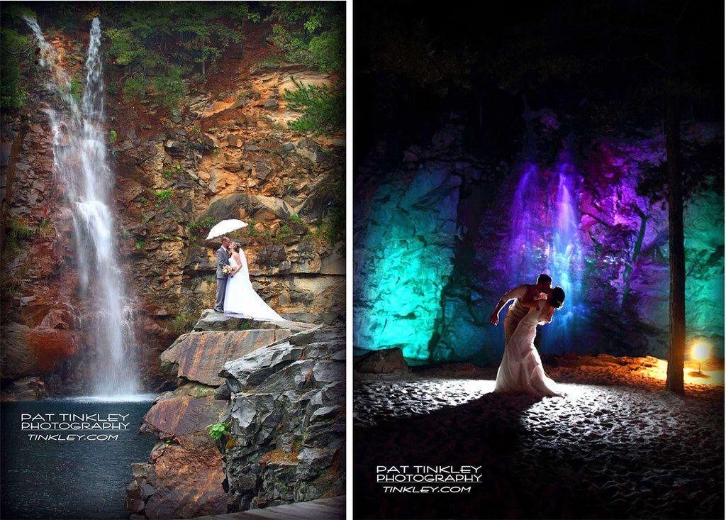 waterfall wedding venues nc