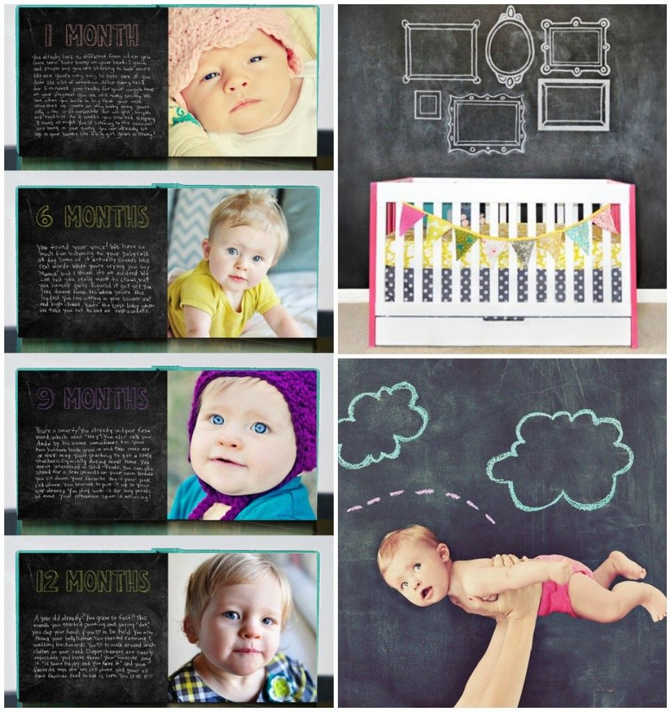 8a2a886d3d5b1 12 Modern Ways to Capture Baby s Milestones