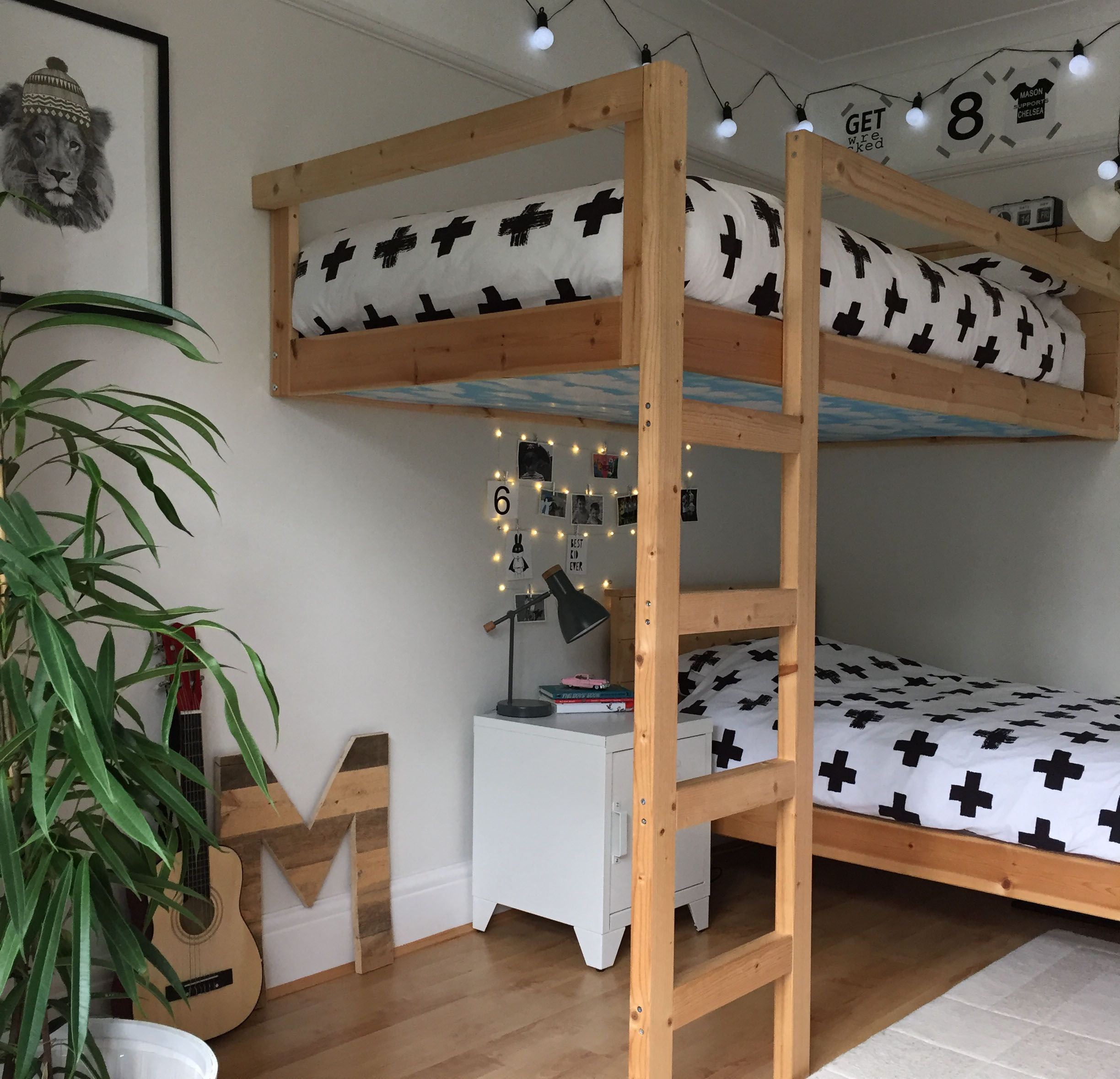 ikea mydal bunk bed instructions