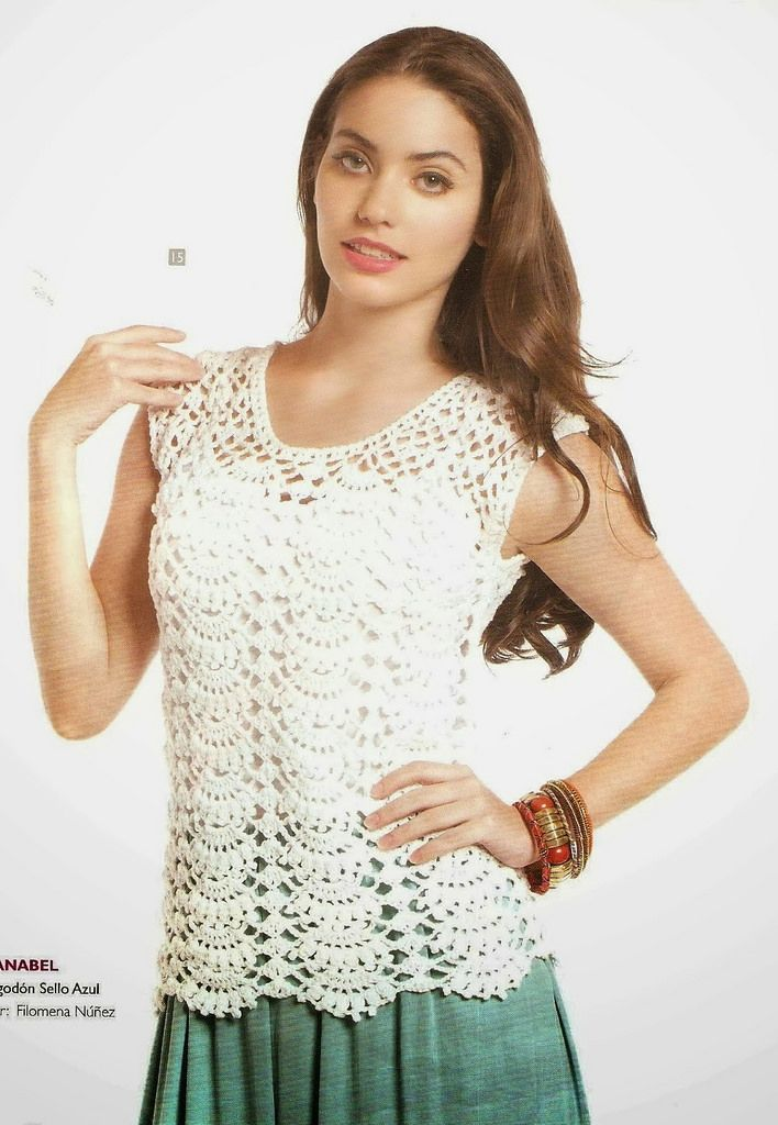 modele top crochet gratuit