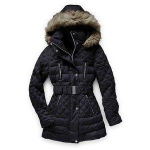 Piekna Puchowa Kurtka Victoria S Secret Xs 36 4859388235 Oficjalne Archiwum Allegro Quilted Puffer Jacket Jackets Cute Winter Coats