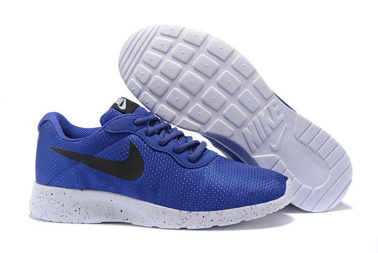 separation shoes b82d9 3cdeb Young Big Boys Nike Tanjun SE Coastal Blue Black Sportstyle Casual Running  Shoes 844887 400
