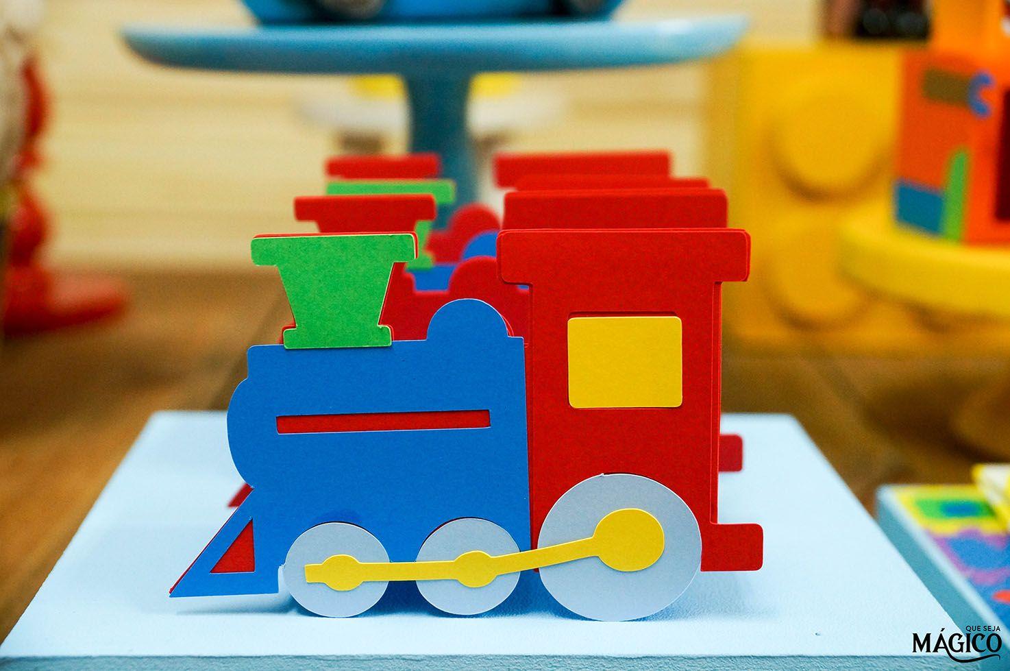 Decoracao Brinquedos Premier Com Imagens Festa De Trem