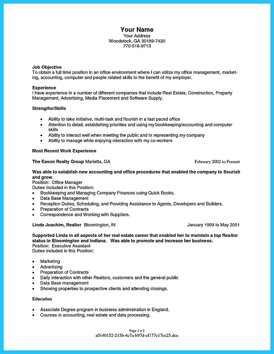 Cool Writing A Great Assistant Property Manager Resume, Check More At  Http://