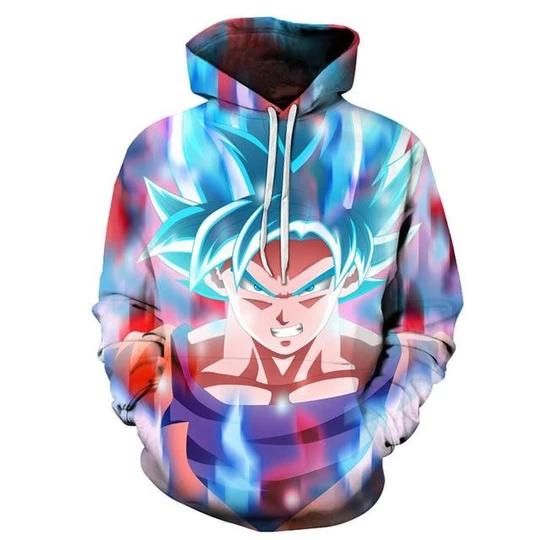 Dragon Ball Z Hoodie 3D Print Sweatshirts Men Pullover Hooded Casual Jacket Coat