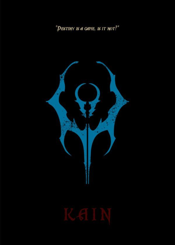 The Legacy Of Kain Council Emblems Displate Posters