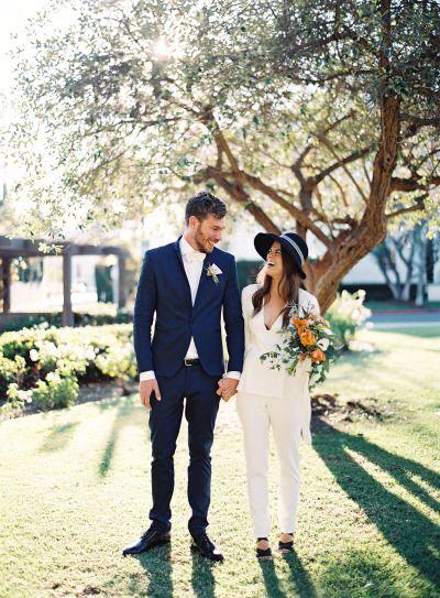 Bridal Pantsuit Courthouse Wedding Endless Cool Girl Style Modern Wedding Dress Courthouse Wedding Bridal Pants