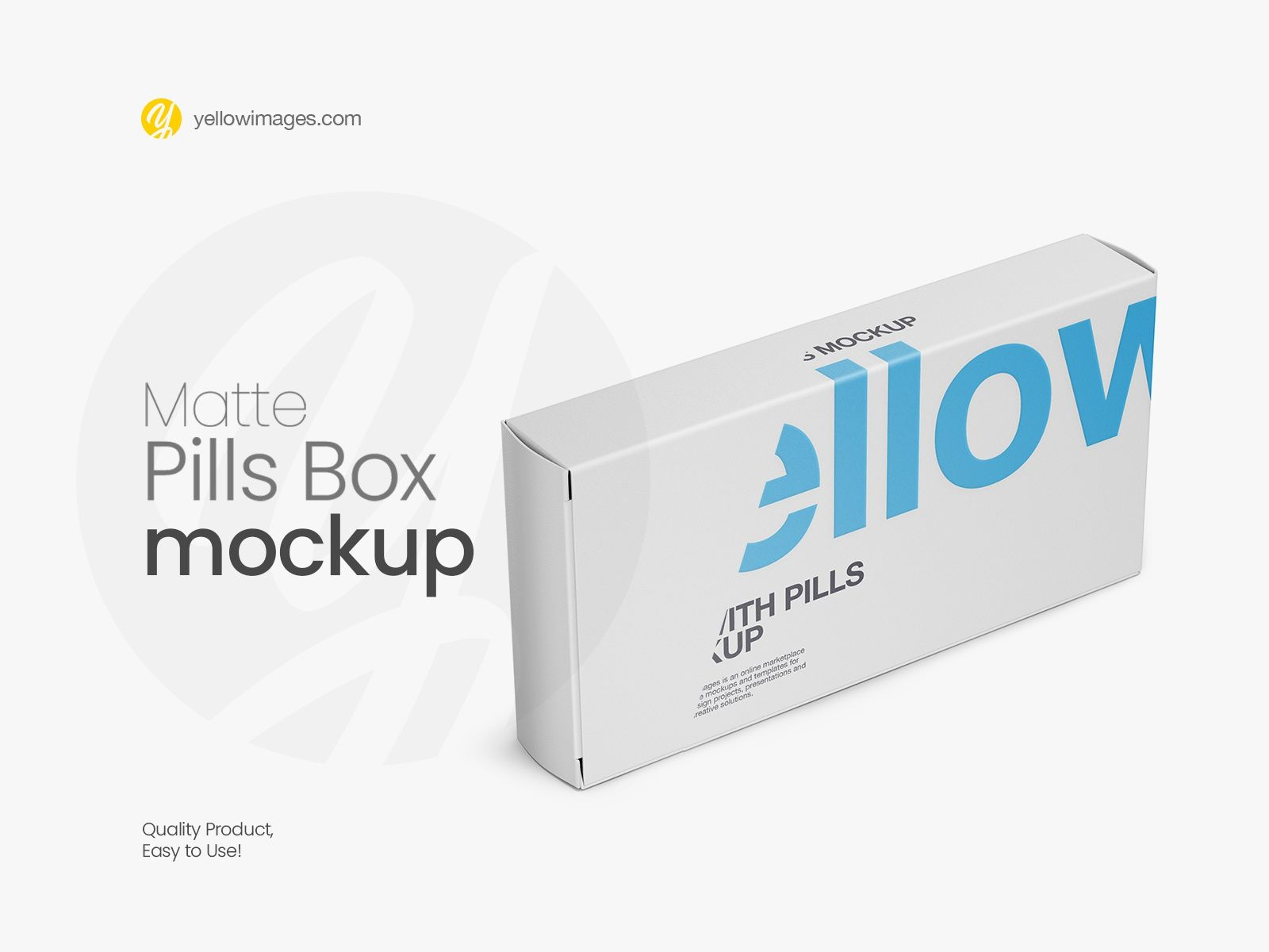 Download Matte Pills Box Mockup Halfside View In 2020 Box Mockup Pills Mockup PSD Mockup Templates