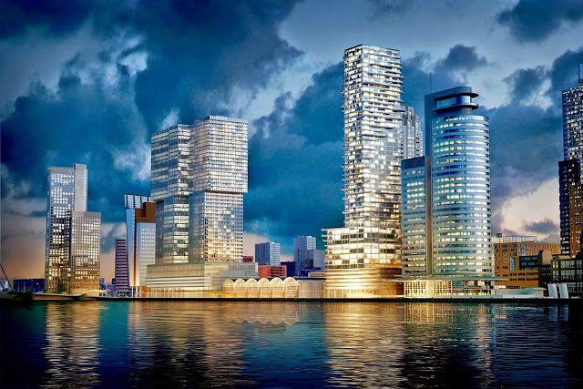 Een dagje op stap in Rotterdam.