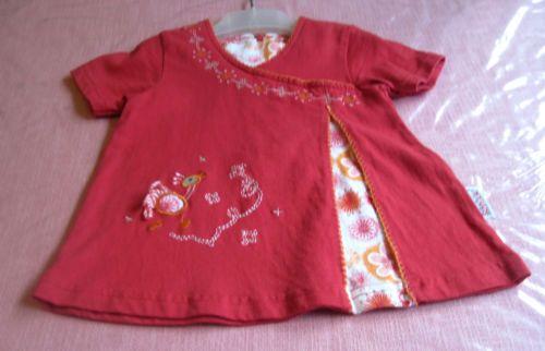 Wunderschoenes-Kinderkleid-Baby-Puppenkleid-vintage-60-70er-Jahren