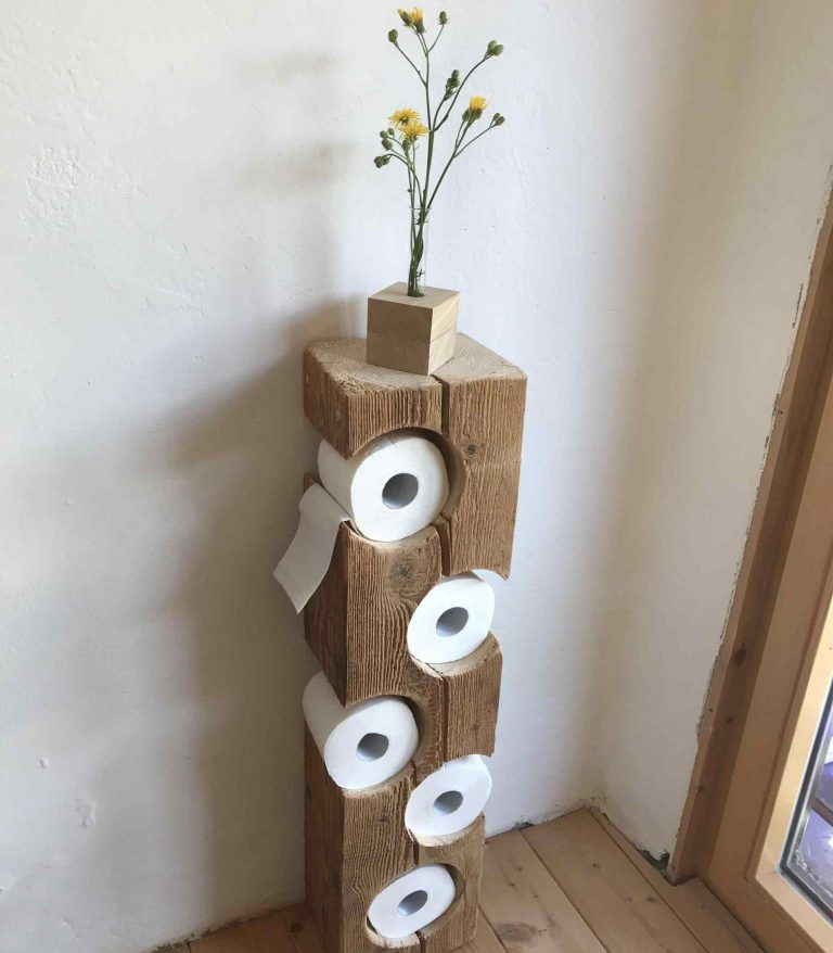 16 Really Cool Ways To Store Toilet Paper In The Bathroom is part of Home decor - Each of us strives for a perfectly organized and practical home where everything has its own place and we know exactly where it is  But, often, it does